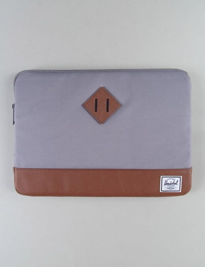 """Herschel Supply Co Heritage 13"""" Macbook Sleeve - Grey/Tan"""