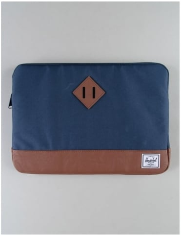"Herschel Supply Co Heritage 13"" Macbook Sleeve - Navy/Tan"