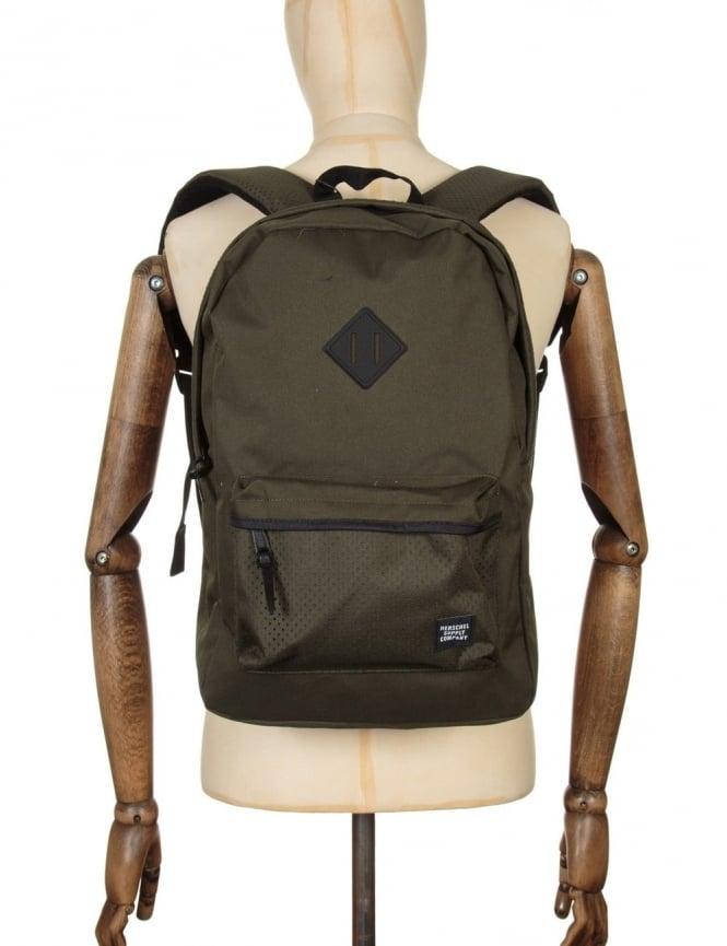 Herschel Supply Co Heritage 21.5L Backpack - Forest Night/Black Rubber