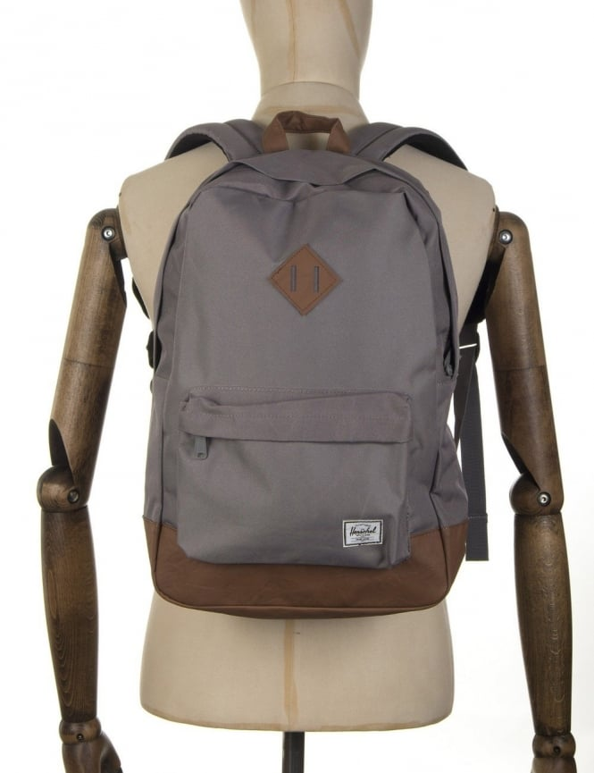 Herschel Supply Co Heritage 21.5L Backpack - Grey/Tan