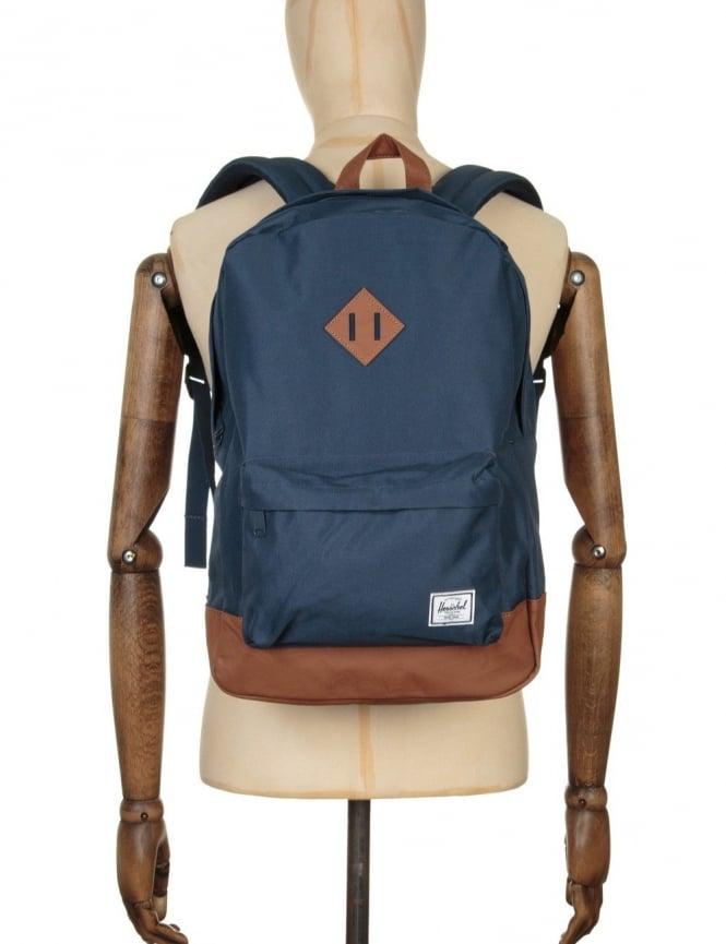 Herschel Supply Co Heritage 21.5L Backpack - Navy/Tan