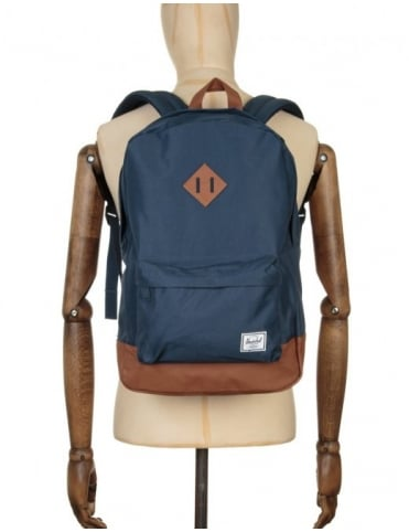 Herschel Supply Co Heritage 21.5L Backpack - Navy/Tan