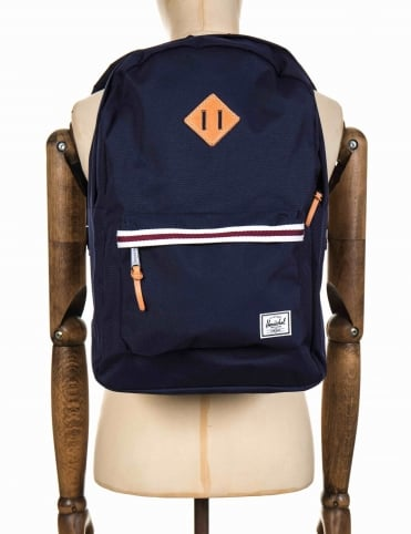 Heritage 21.5L Backpack - Peacoat/White/Windsor Wine