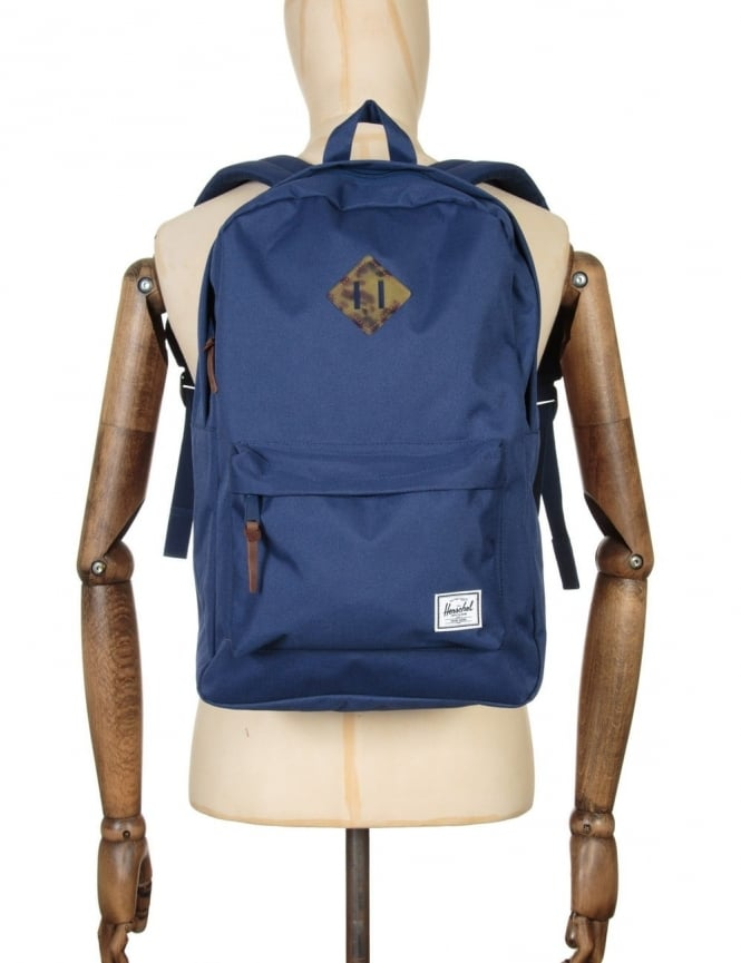 Herschel Supply Co Heritage 21.5L Backpack - Twilight Blue/Tortoise Shell