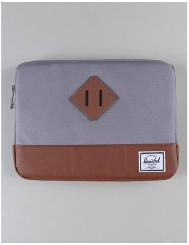 Heritage Ipad Air Sleeve - Grey/Tan