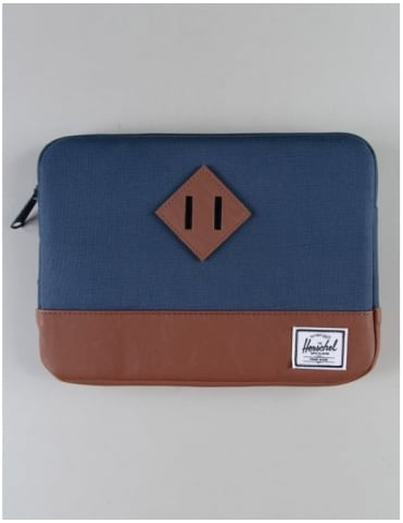 Heritage Ipad Air Sleeve - Navy/Tan