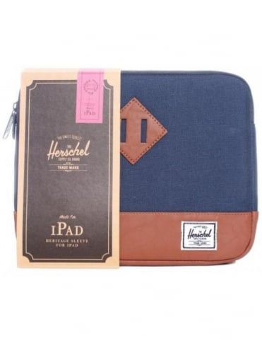 Heritage iPad Sleeve - Navy