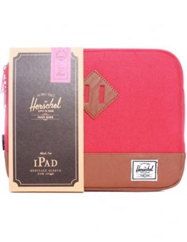 Heritage iPad Sleeve - Red