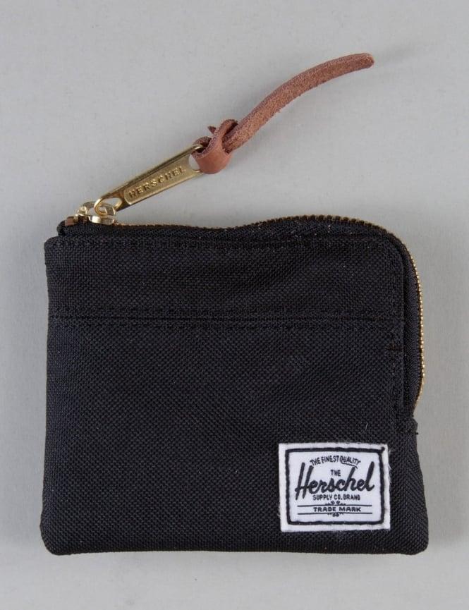 Herschel Supply Co Johnny Zip Wallet - Black