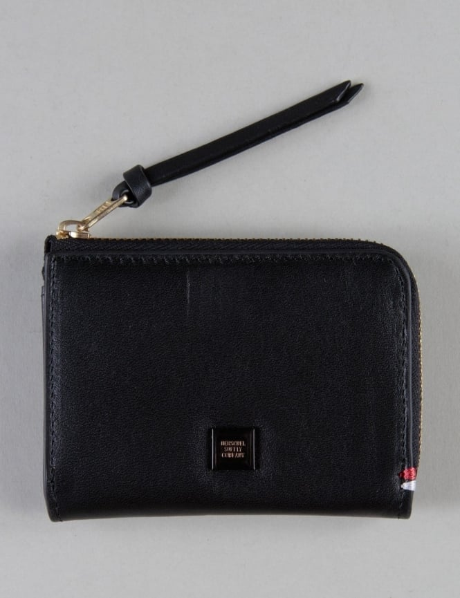 Herschel Supply Co Lamont Wallet - Blacked Out Leather
