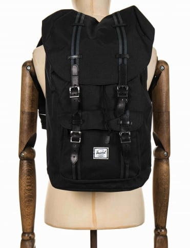 Little America 25L Backpack - Black/Dark Shadow/Black