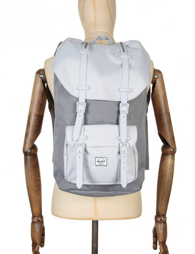 Herschel Supply Co Little America 25L Backpack - Grey/Lunar Rock