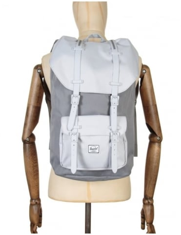 Herschel Supply Co Little America 25L Backpack - Grey/Lunar Rock