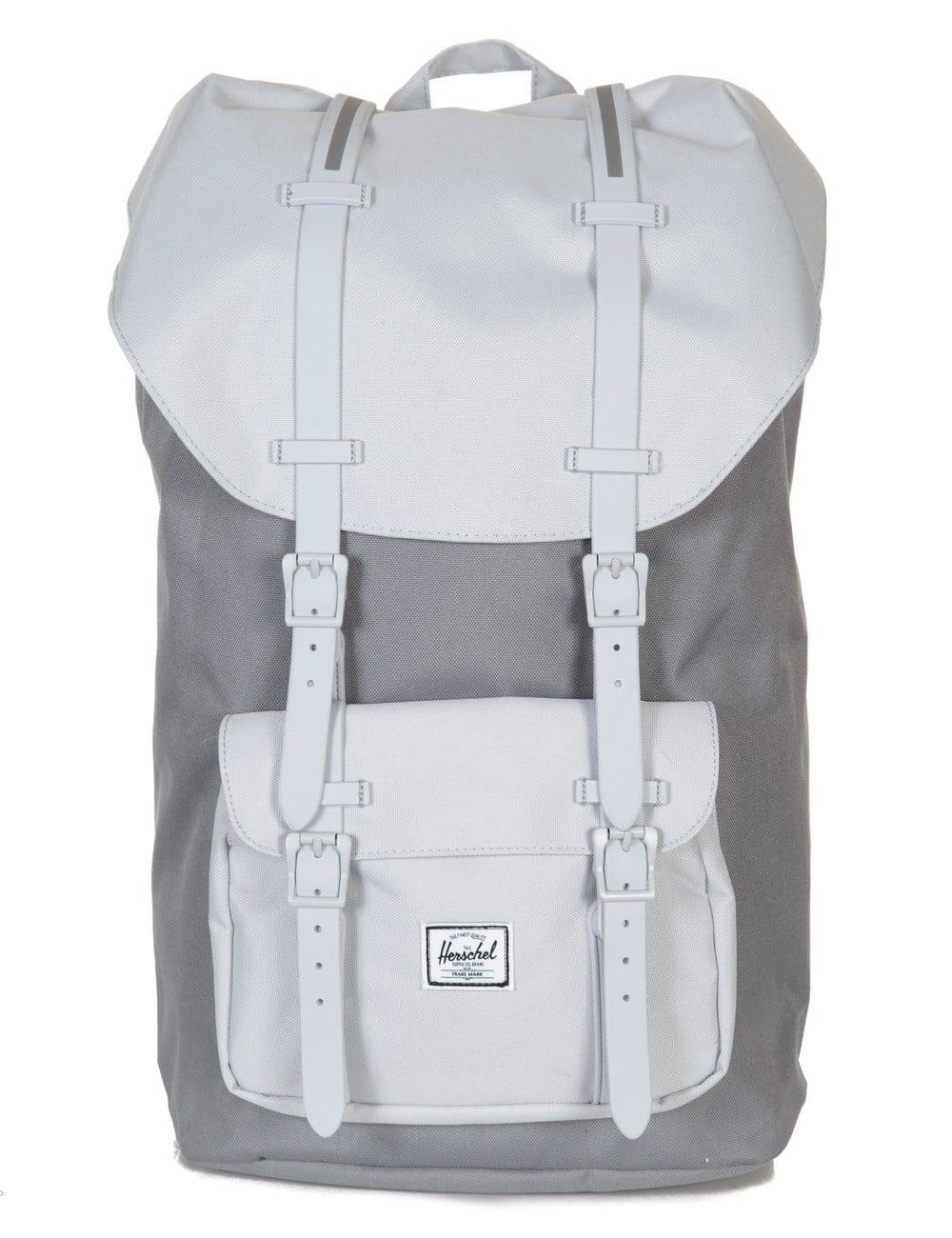Herschel Supply Co Little America 25L Backpack - Grey Lunar Rock ... 66d7ab59007e1