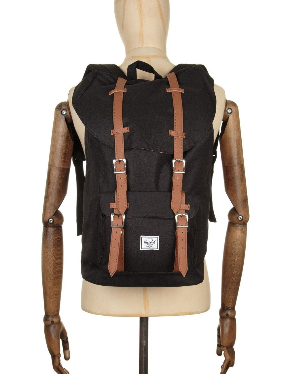 4168132ec86 Herschel Supply Co Little America Backpack - Black Tan - Accessories ...