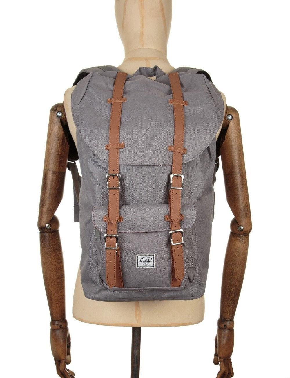 Herschel Supply Co Little America Backpack - Grey Tan - Accessories ... d91c4ae9c82ef