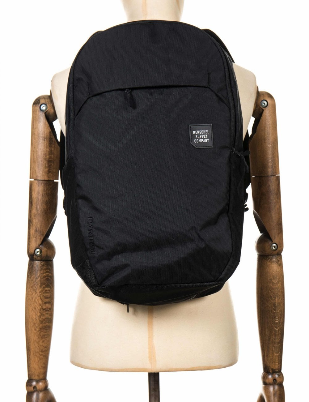 Herschel Supply Co Mammoth Backpack Large 23L - Black - Accessories ... b57471ef3ef05