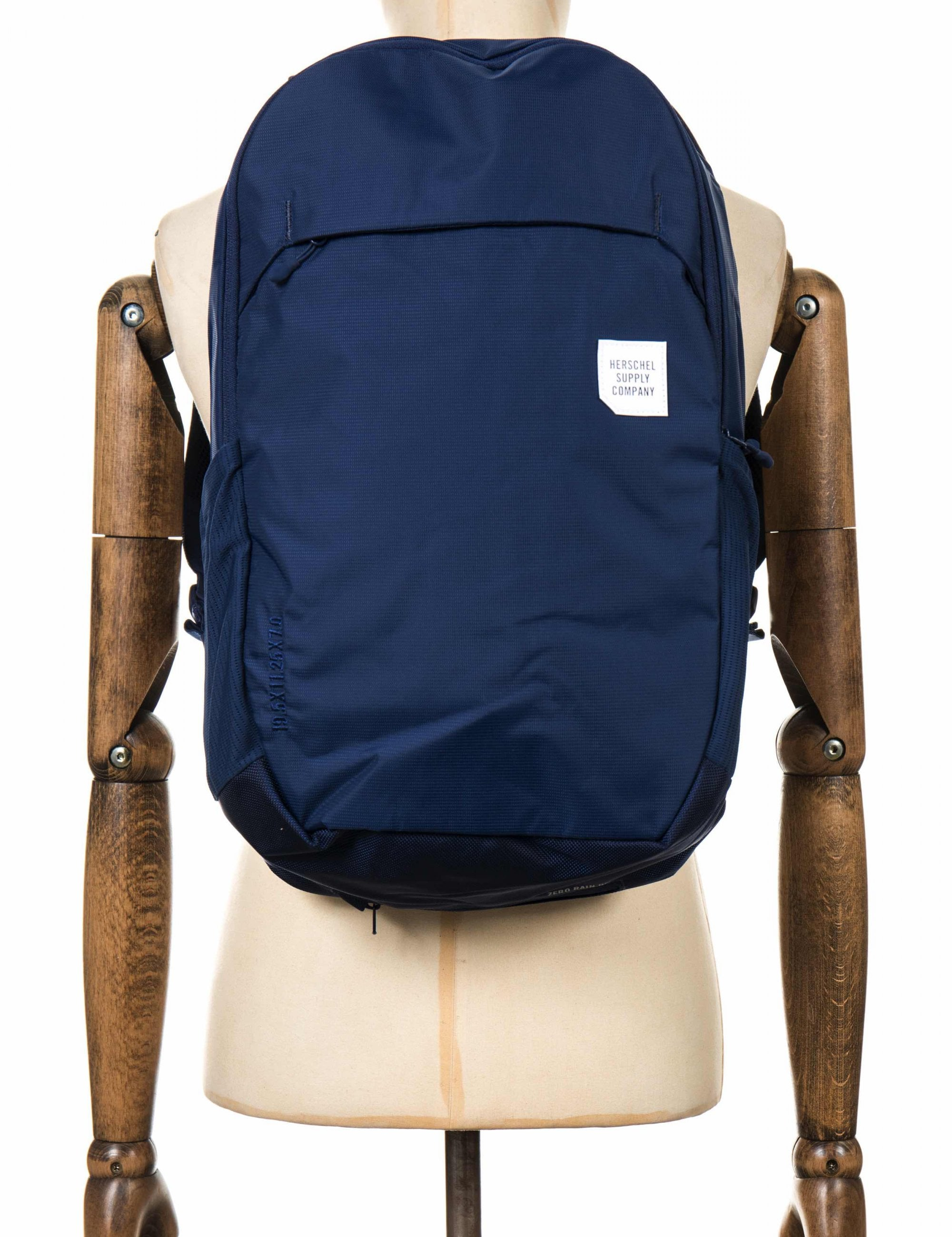entire collection top quality attractive price Herschel Supply Co Mammoth Backpack Large 23L - Medieval Blue ...