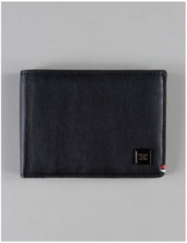 Herschel Supply Co Merritt Wallet - Blacked Out Leather