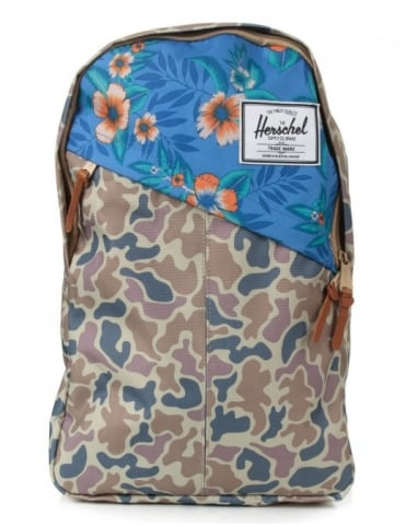 Herschel Supply Co Parker 19L Backpack - Duck Camo/Paradise