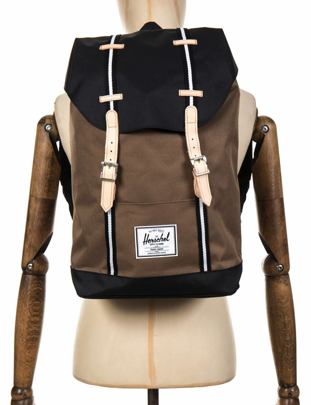 5337ff7ae4a0 Herschel Supply Co Retreat 19.5L Backpack - Cub Black White ...