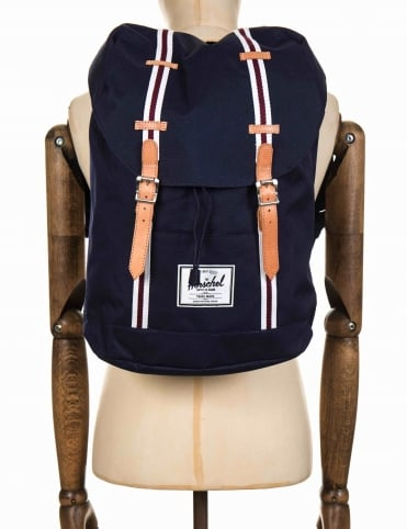 Retreat 19.5L Backpack - Peacoat/White/Windsor Wine
