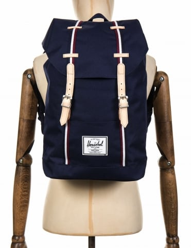 Retreat 19.5L Backpack - Peacoat/White/Windsor Wine/White