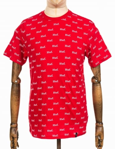 AOP Domestic Tee - Red
