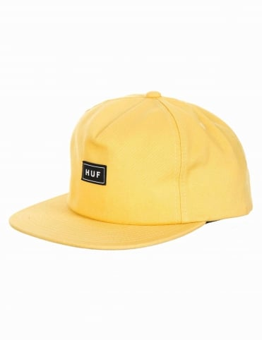 Bar Logo Hat - Maize