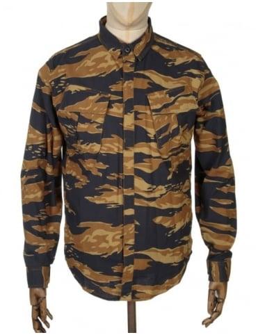 Huf BDU Military Shirt - Golden Tiger Camo