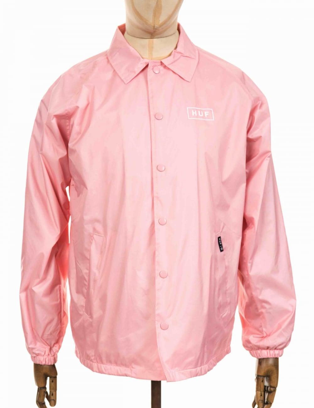 7c0324944e21fc Huf box logo coach jacket pink clothing from fat buddha store jpg 1000x1300 Pink  coach jacket