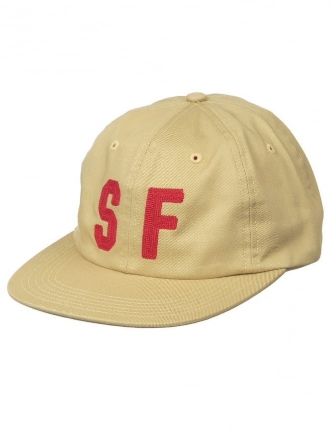 Huf City 6 Panel Hat - Gold (SF)
