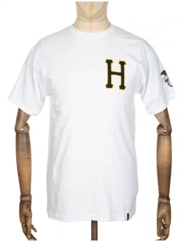 Huf Classic H Regal T-shirt - White