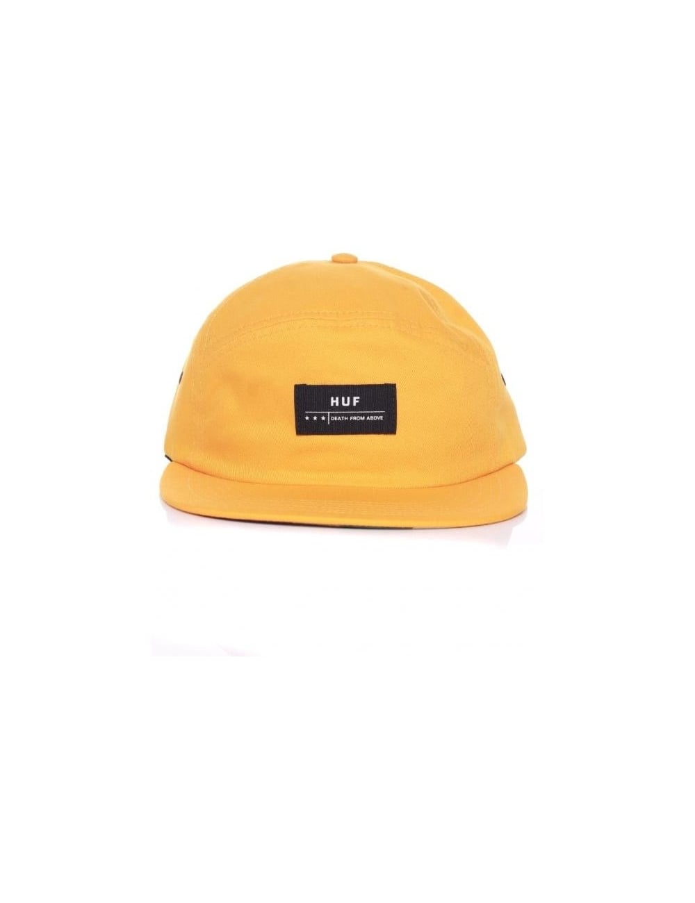 7c9fc53f62f Huf Death From Above 6 Panel Volley Hat - Gold - Hat Shop from Fat ...