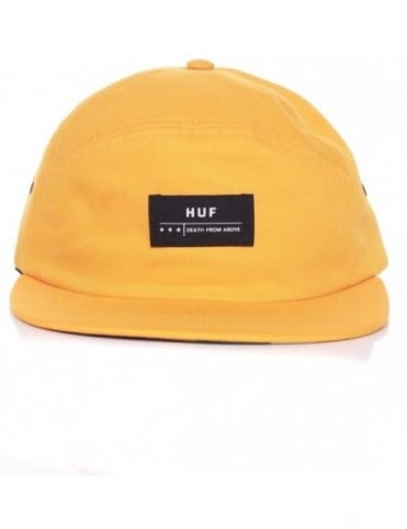 Huf Death From Above 6 Panel Volley Hat - Gold