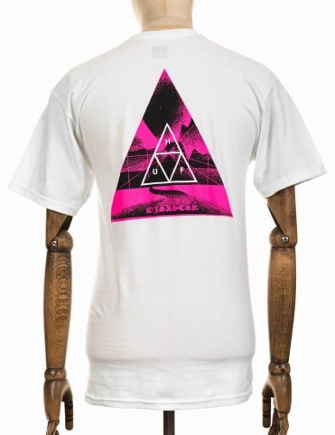 Dimensions Triangle Tee - White