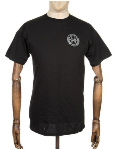 Huf H-Class Logo T-shirt - Black