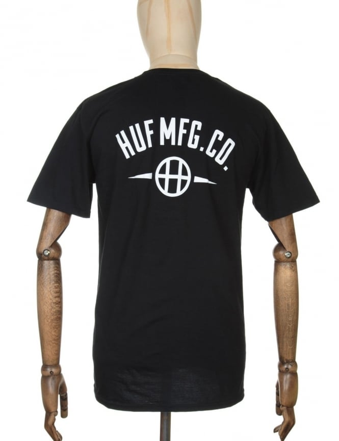 Huf MFG Station T-shirt - Black