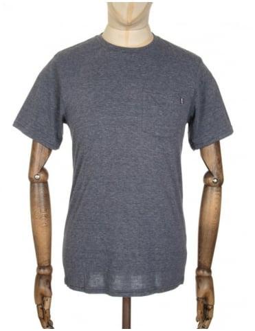 Huf Nepp Pocket T-shirt - Black