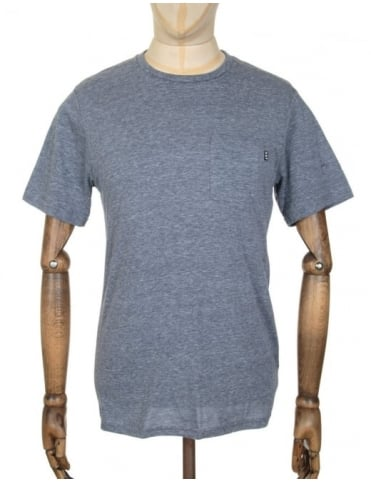 Huf Nepp Pocket T-shirt - Navy