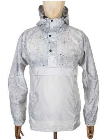 Huf Pullover Anorak Jacket - Concrete Grey