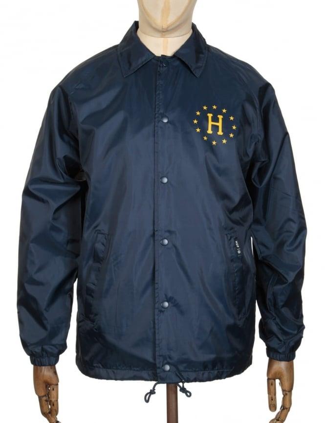 Huf Recruit Coach Jacket - Navy