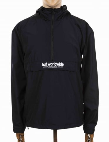 Stadium Offsides Anorak - Black