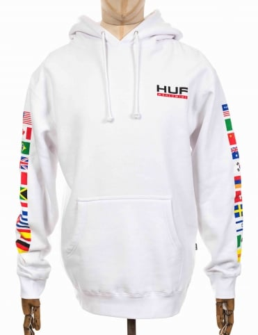 Stadium United Hooded Sweatshirt - White