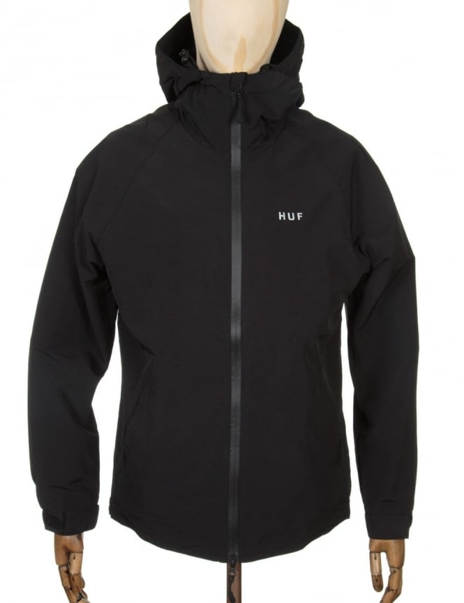 Huf Stan Shell Jacket - Black