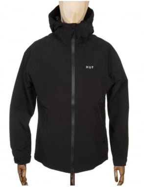 Huf Stan Shell Jacket - Black