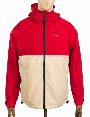 Standard Shell Jacket - Red/Tan