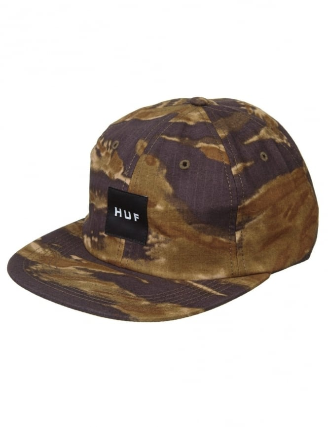 Huf Tiger Camo 6 Panel Hat - Gold