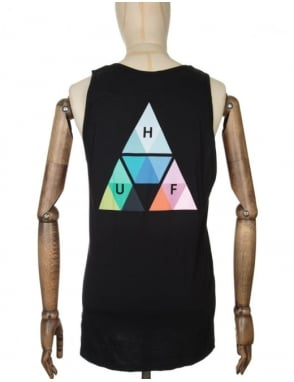 Huf Triangle Prism Tank Top - Black