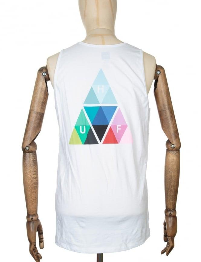 Huf Triangle Prism Tank Top - White